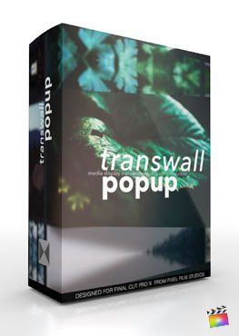 Final Cut Pro X Plugin TransWall Popup from Pixel Film Studios