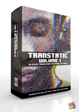 Final Cut Pro X Plugin TranStatic from Pixel Film Studios
