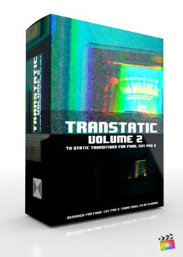 Final Cut Pro X Plugin TranStatic Volume 2 from Pixel Film Studios