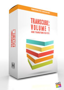 Final Cut Pro X Plugin TransCube Volume 1 from Pixel Film Studios