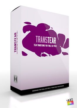 Final Cut Pro X Plugin TransTear from Pixel Film Studios