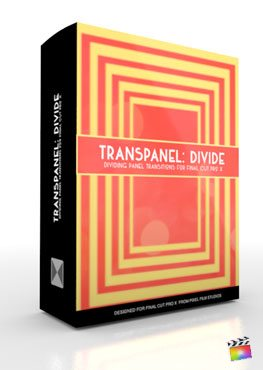 Final Cut Pro X Plugin TransPanel Divide from Pixel Film Studios