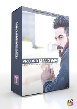 Final Cut Pro X Plugin Pro3rd Essentials from Pixel Film Studios