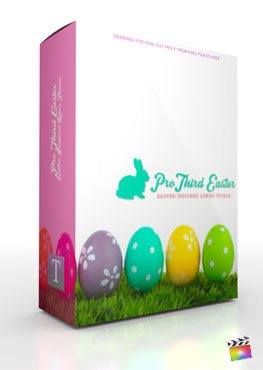 Final Cut Pro X Plugin Pro3rd Easter from Pixel Film Studios