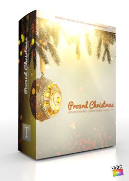 Final Cut Pro X Plugin Pro3rd Christmas from Pixel Film Studios