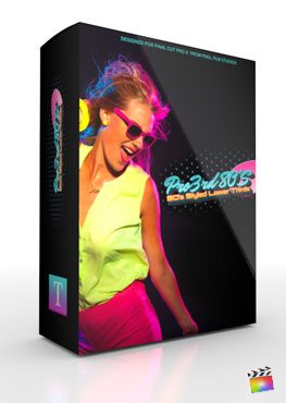 Final Cut Pro X Plugin Pro3rd 80's from Pixel Film Studios