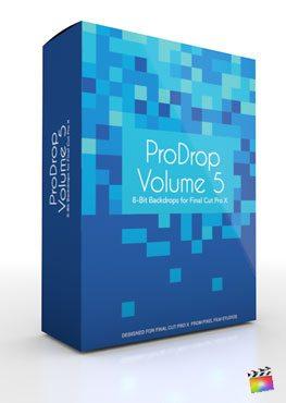 Final Cut Pro X Plugin ProDrop Volume 5 from Pixel Film Studios