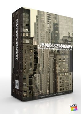 Final Cut Pro X Plugin TranSlice Magnify from Pixel Film Studios