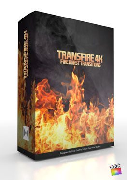 Final Cut Pro X Plugin TransFire 4K from Pixel Film Studios