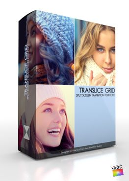 Final Cut Pro X Plugin TranSlice Grid from Pixel Film Studios