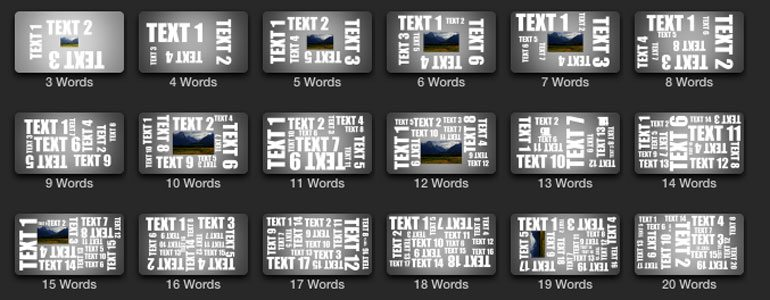 ProTypo - Kinetic Text Titles - for Final Cut Pro X