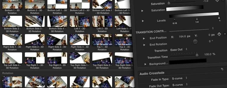 Professional - Type Wipe Transition - for Final Cut Pro X