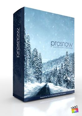 Final Cut Pro X Plugin ProSnow from Pixel Film Studios