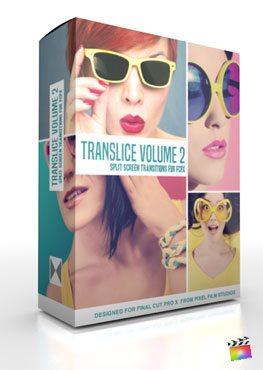 Final Cut Pro X Plugin TranSlice Volume 2 from Pixel Film Studios