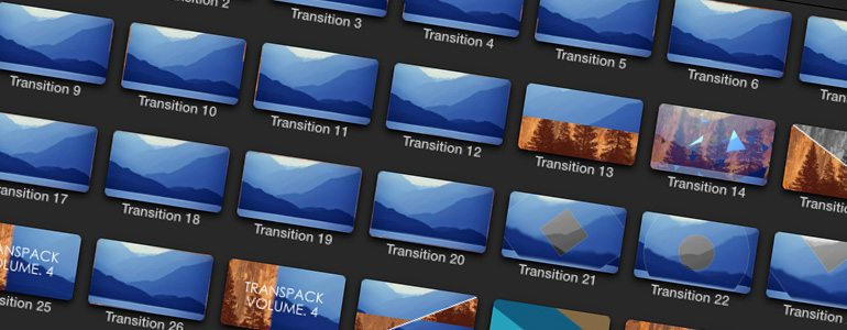 Professional - TransPack Transitions - for Final Cut Pro X