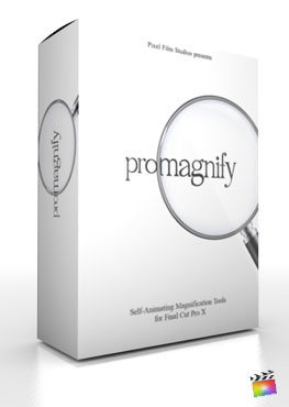 Final Cut Pro X Plugin ProMagnify from Pixel Film Studios