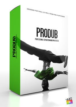 Final Cut Pro X Plugin ProDub from Pixel Film Studios