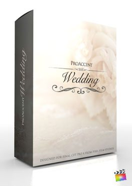 Final Cut Pro X Plugin ProAccent Wedding from Pixel Film Studios