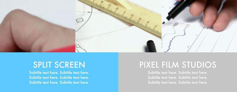 Professional - Split Screen Transition - for Final Cut Pro X