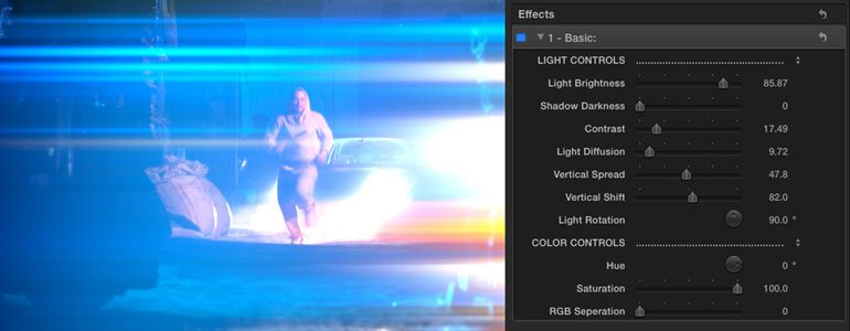 Professional - Lighting Effects for Final Cut Pro X