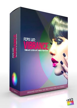 Final Cut Pro X Plugin FCPX LUT Vibrance from Pixel Film Studios