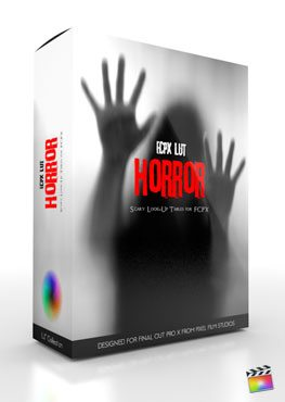 Final Cut Pro X Plugin FCPX LUT Horror from Pixel Film Studios