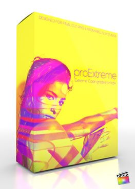 Pixel Film Studios Color Grade Preset Proextreme for Final Cut Pro X