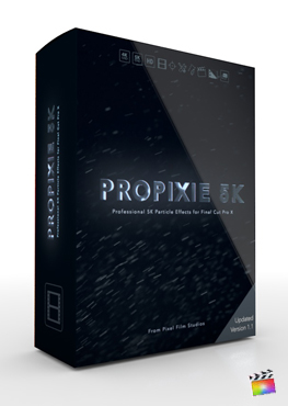 Final Cut Pro Plugin - ProPixie 5K from Pixel Film Studios