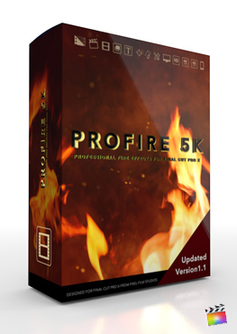 Final Cut Pro X Plugin ProFire 5K from Pixel Film Studios