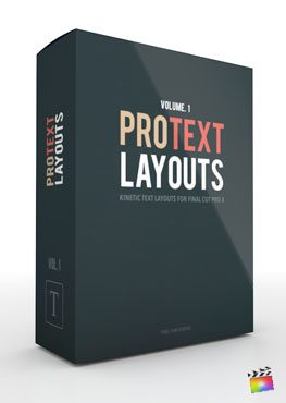 Final Cut Pro X Plugin ProText Layouts from Pixel Film Studios