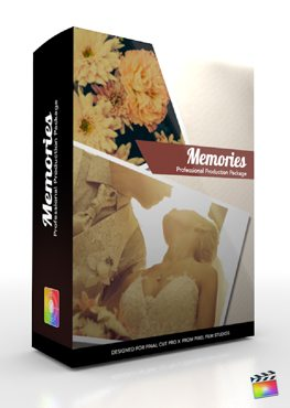 Final Cut Pro X Plugin Production Package Memories from Pixel Film Studios