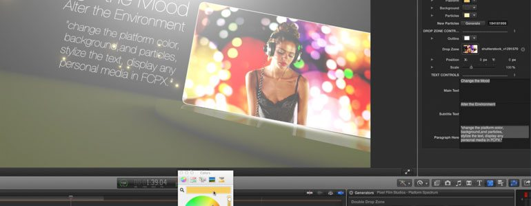 Professional - Theme Template - for Final Cut Pro X