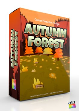 Final Cut Pro X Plugin Production Package Autumn Forest from Pixel Film Studios