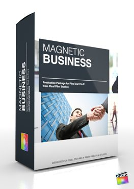 Final Cut Pro X Plugin Production Package Magnetic Business from Pixel Film Studios