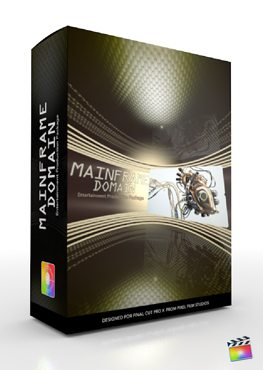 Final Cut Pro X Plugin Production Package Mainframe Domain from Pixel Film Studios