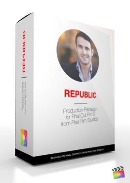 Final Cut Pro X Plugin Production Package Republic from Pixel Film Studios