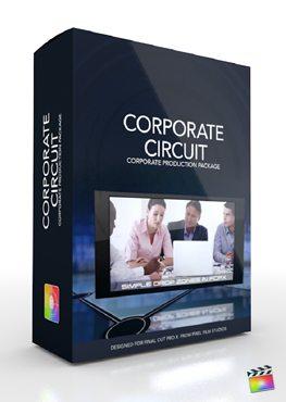 Final Cut Pro X Plugin Production Corporate Circuit from Pixel Film Studios