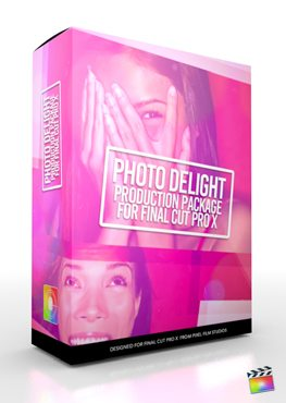 Final Cut Pro X Plugin Production Package Photo Delight from Pixel Film Studios
