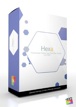 Final Cut Pro X Plugin Production Package Hexa from Pixel Film Studios