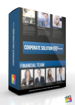Final Cut Pro X Plugin Production Package Corporate Solution from Pixel Film Studios