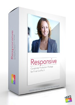 Final Cut Pro X Plugin Production Package Responsive from Pixel Film Studios