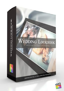 Final Cut Pro X Plugin Production Package Wedding LookBook from Pixel Film Studios