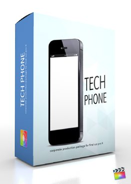 Final Cut Pro X Plugin Production Package Tech Phone from Pixel Film Studios