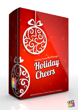 Final Cut Pro X Plugin Production Package Holiday Cheers from Pixel Film Studios