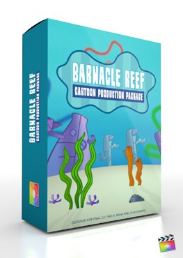 Final Cut Pro X Plugin Production Package Barnacle Reef from Pixel Film Studios