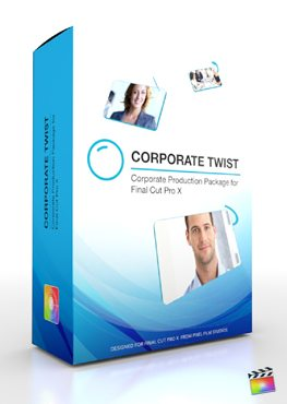 Final Cut Pro X Plugin Production Package Corporate Twist from Pixel Film Studios