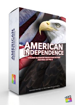 Final Cut Pro X Plugin Production Package American Independence from Pixel Film Studios