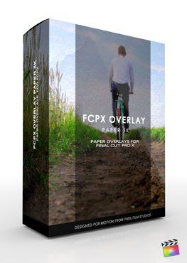 Final Cut Pro X Plugin FCPX Overlay Paper 5K from Pixel Film Studios