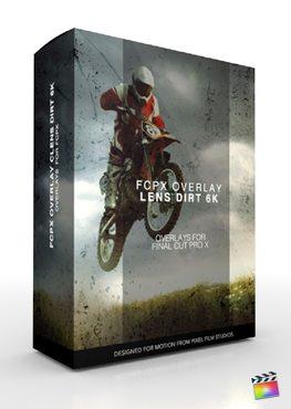FCPX Overlay Lens Dirt 6K