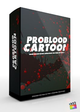 Final Cut Pro X Plugin ProBlood Cartoon from Pixel Film Studios